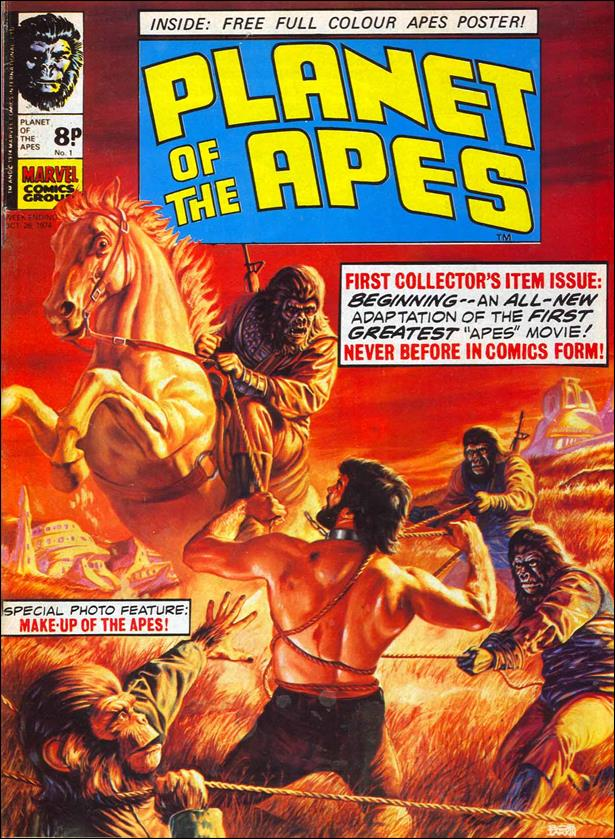 Planet of the Apes (UK) (1974) 1-A by Marvel UK