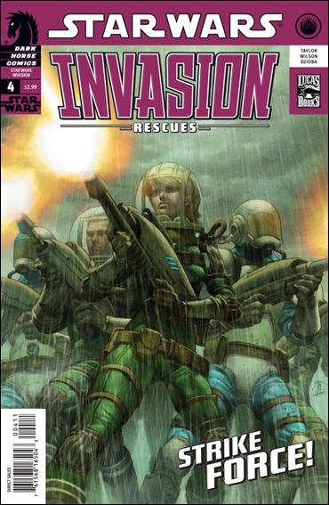 Star Wars: Invasion - Rescues 4-A by Dark Horse