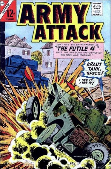 Army Attack 47-A by Charlton