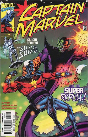 Captain Marvel (1999) 9-A by Marvel