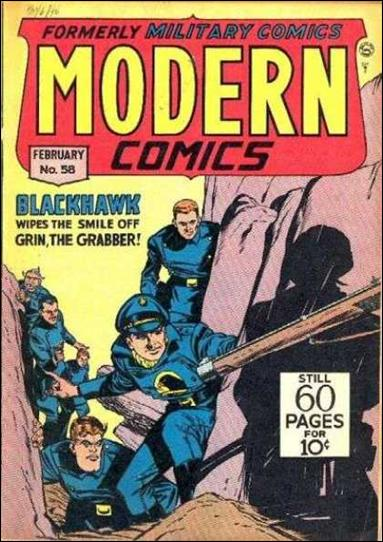 Modern Comics 58-A by Quality