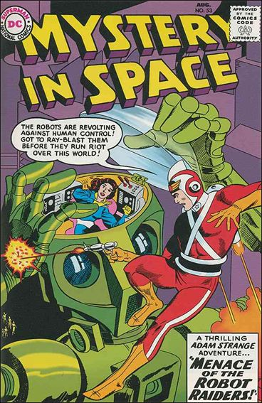 Mystery in Space (1951) 53-A by DC