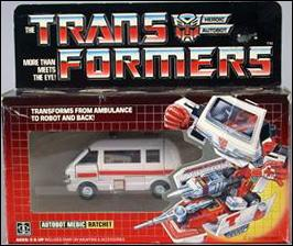 Transformers: More Than Meets the Eye (Generation 1) Ratchet (Autobot Medic) by Hasbro