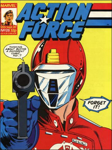 Action Force (UK) 28-A by Marvel UK