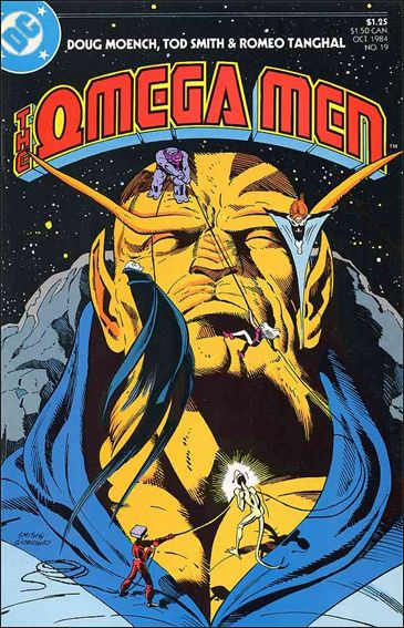 Omega Men (1983) 19-A by DC