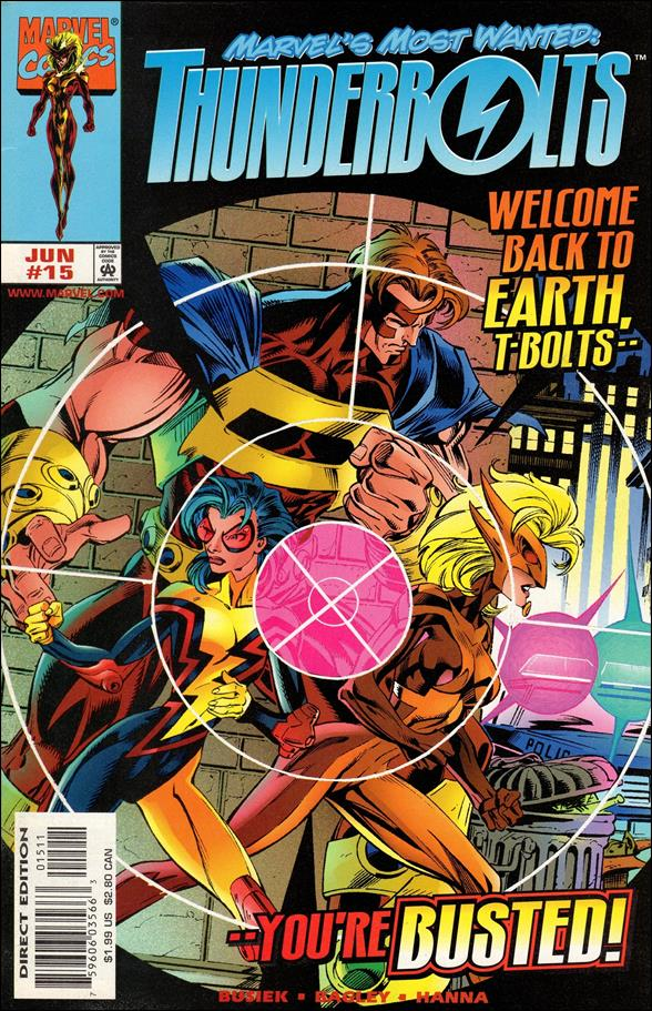 Thunderbolts (1997) 15-A by Marvel