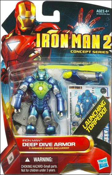 Iron Man 2 Iron Man - Deep Dive Armor (Concept Series) by Hasbro