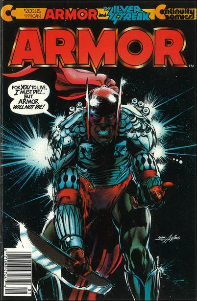 Armor (1985) 1-A by Continuity Comics