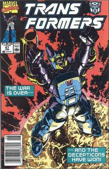 Transformers (1984) 67-A by Marvel