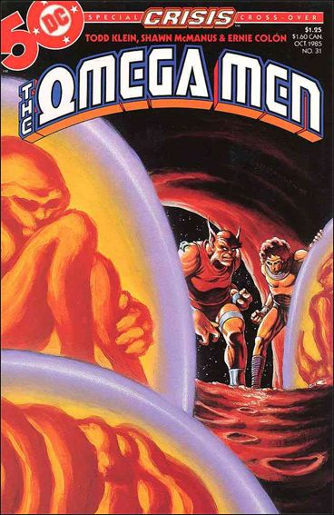 Omega Men (1983) 31-A by DC