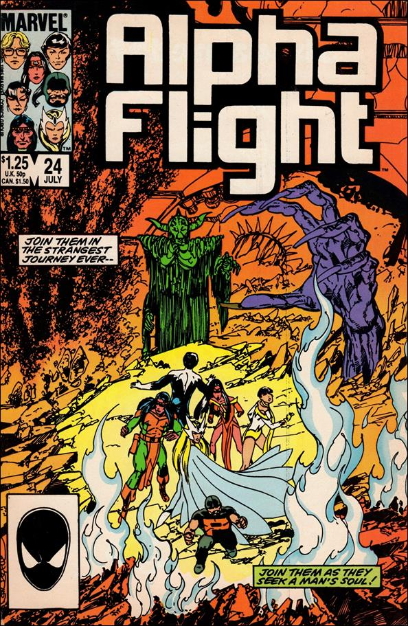 Alpha Flight (1983) 24-A by Marvel