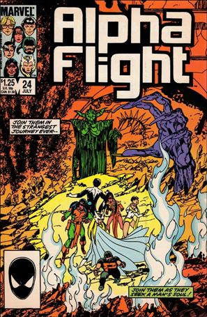 Alpha Flight (1983) 24-A