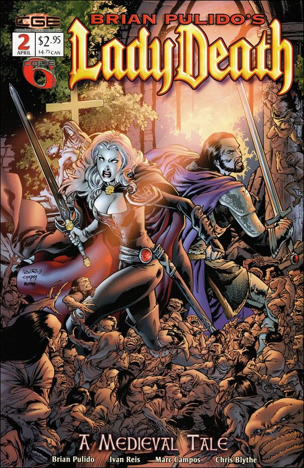 Brian Pulido's Lady Death: A Medieval Tale 2-A by CrossGen
