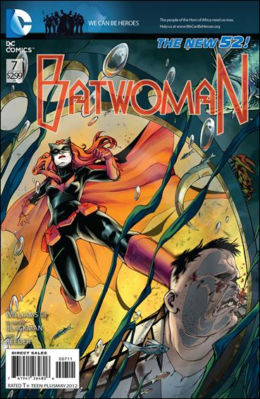 Batwoman 7-A by DC
