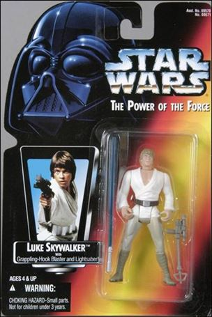 "Star Wars: The Power of the Force 2 3 3/4"" Basic Action Figures Luke Skywalker (Long Saber/Long Tray)"