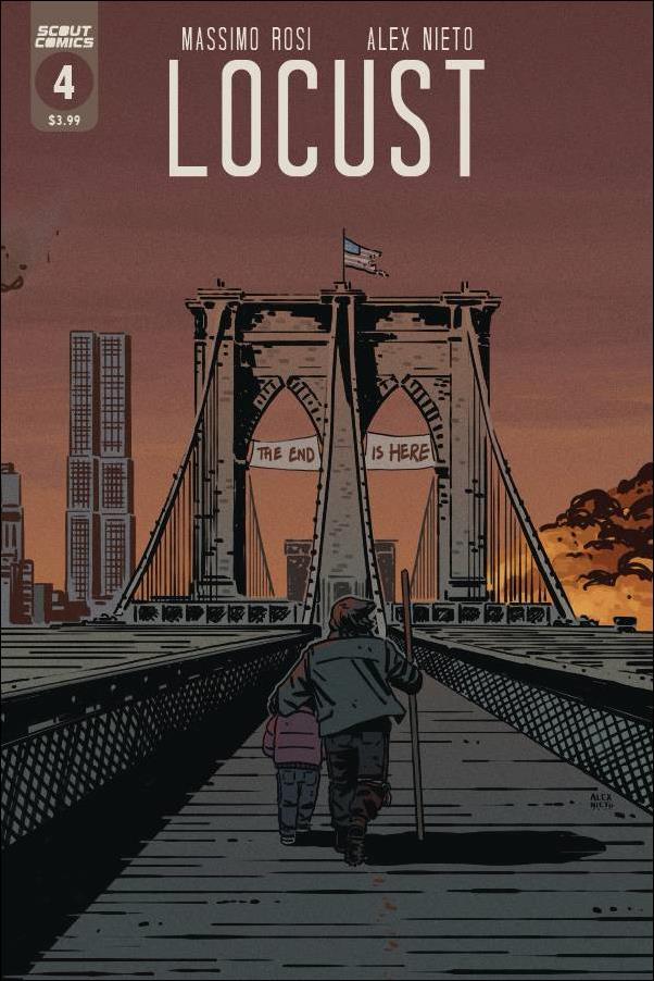 Locust 4-A by Scout Comics
