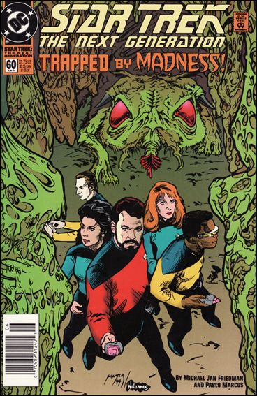 Star Trek: The Next Generation (1989) 60-A by DC