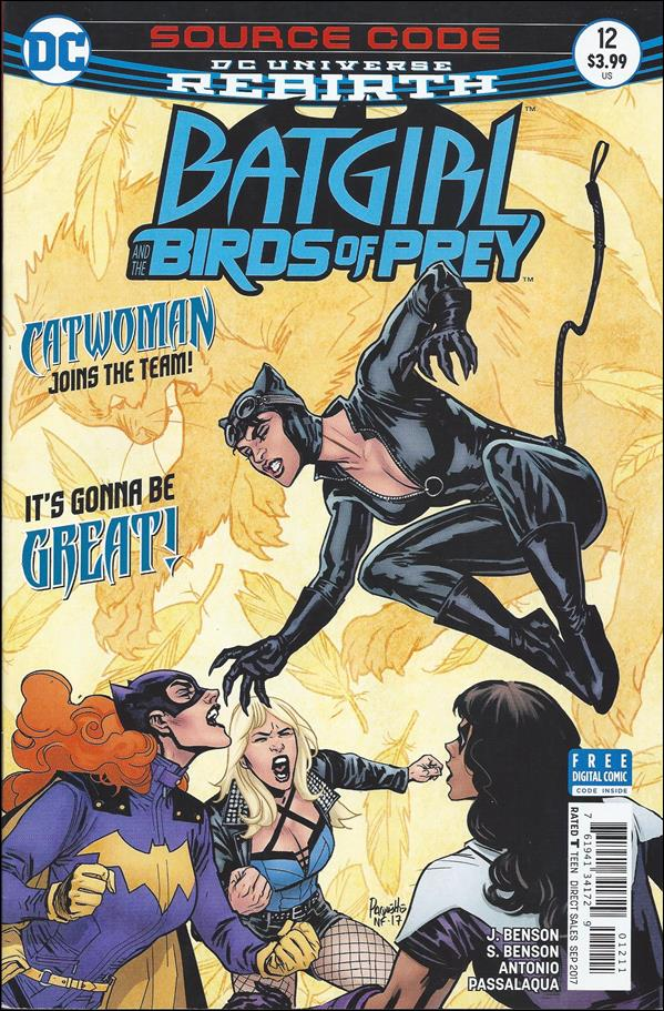 Batgirl & The Birds of Prey 12-A by DC