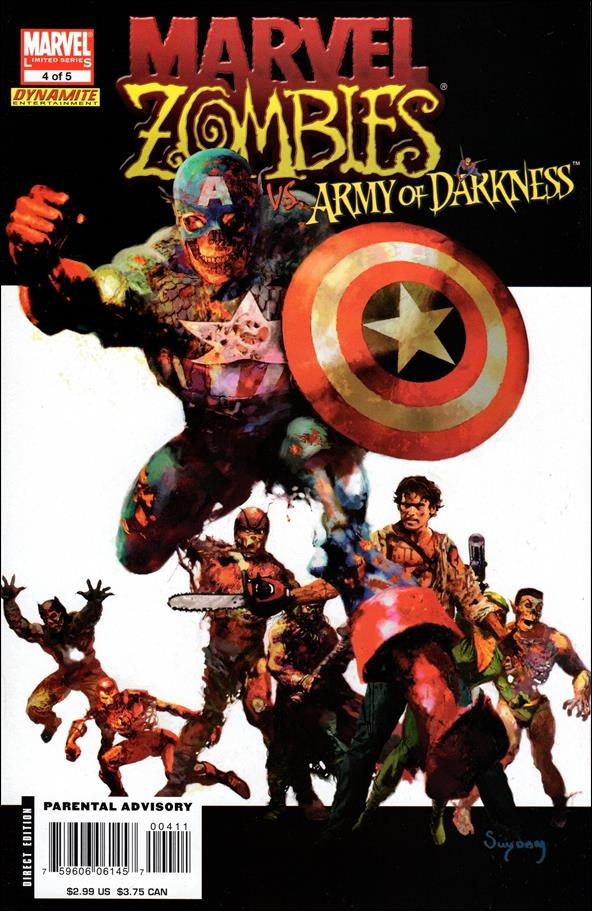 Marvel Zombies/Army of Darkness 4-A by Marvel