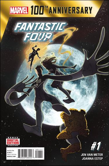 100th Anniversary Special: Fantastic Four 1-A by Marvel