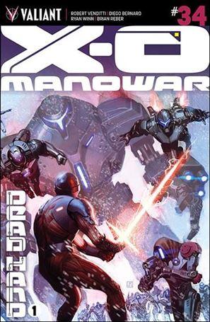 X-O Manowar (2012)  34-B