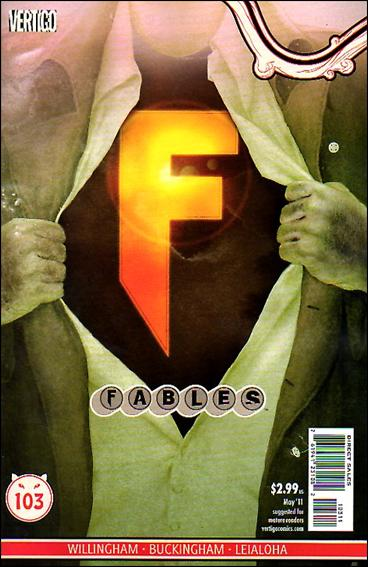 Fables 103-A by Vertigo