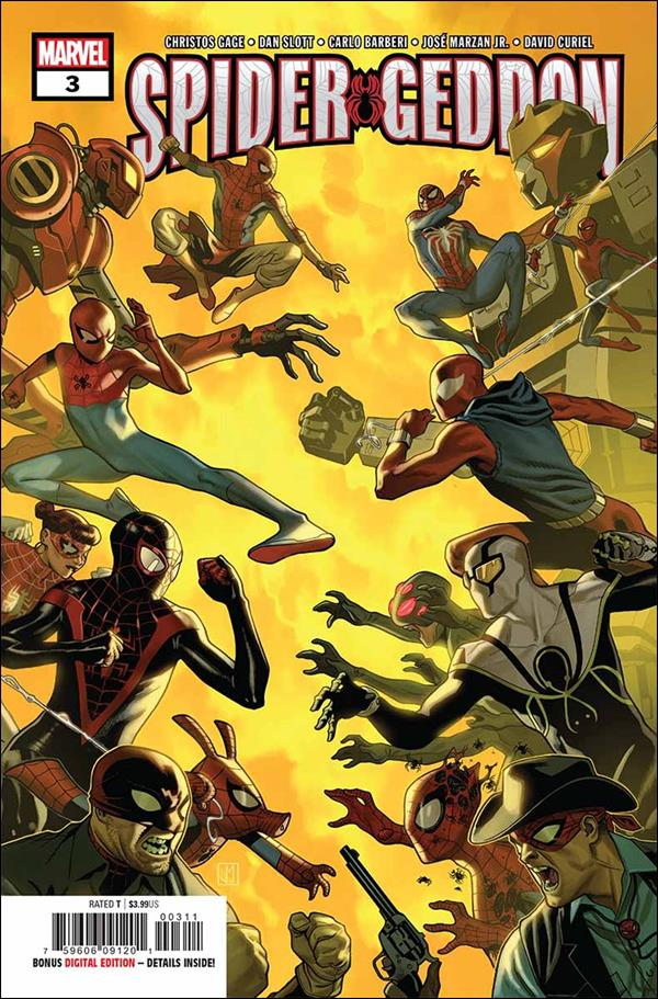 Spider-Geddon 3-A by Marvel