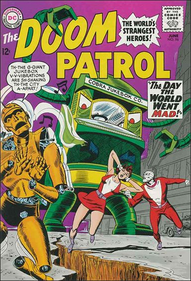 Doom Patrol (1964) 96-A by DC