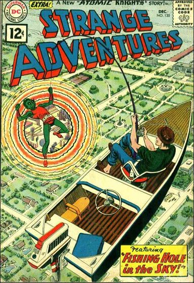 Strange Adventures (1950) 135-A by DC