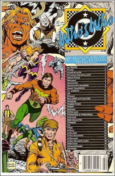 Who's Who: The Definitive Directory of the DC Universe 24-A by DC