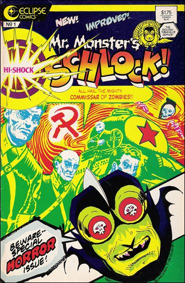 Mr. Monster's Hi-Shock Schlock 1-A by Eclipse