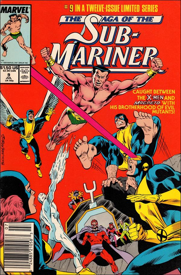 Saga of the Sub-Mariner 9-A by Marvel