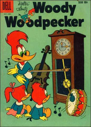 Walter Lantz Woody Woodpecker  51-A by Dell