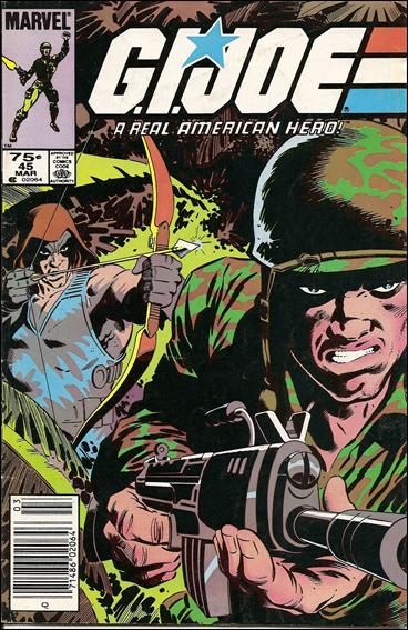G.I. Joe: A Real American Hero 45-A by IDW