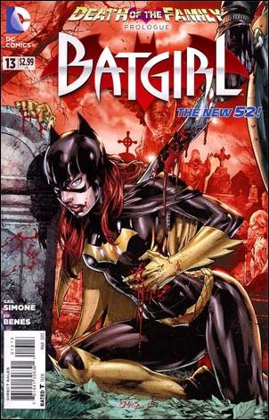 Batgirl (2011) 13-D by DC