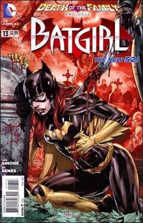 Batgirl (2011) 13-D