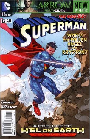 Superman (2011) 13-A by DC