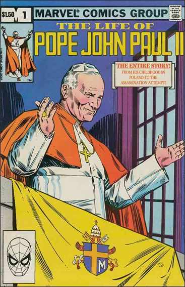 Life of Pope John Paul II 1-A by Marvel
