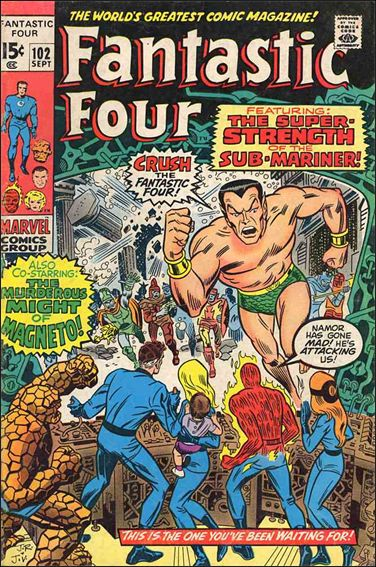Fantastic Four (1961) 102-A by Marvel