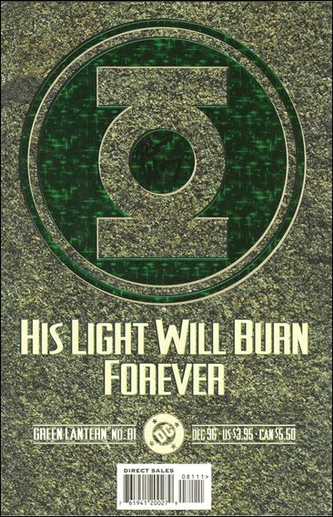 Green Lantern (1990) 81-A by DC