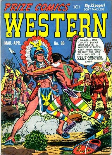 Prize Comics Western 86-A by Feature