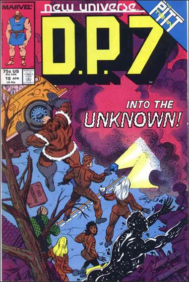 D.P.7 18-A by Marvel