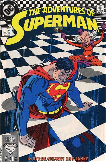 Adventures of Superman (1987) 441-A by DC