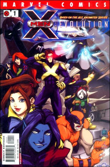 X-Men: Evolution (2002/02) 1-A by Marvel