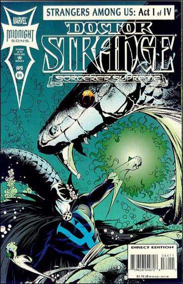 Doctor Strange, Sorcerer Supreme 64-A by Marvel