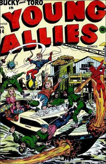Young Allies Comics 14-A by Marvel