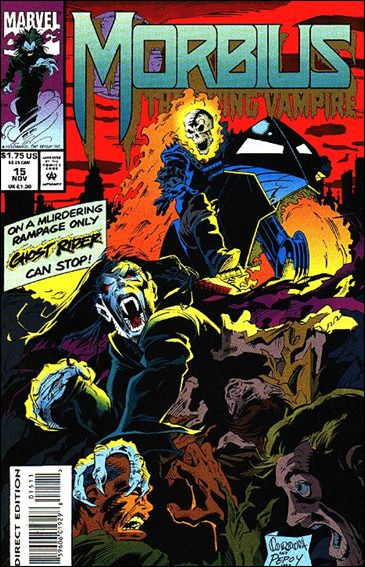 Morbius: The Living Vampire (1992) 15-A by Marvel