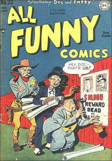 All Funny Comics 23-A by DC