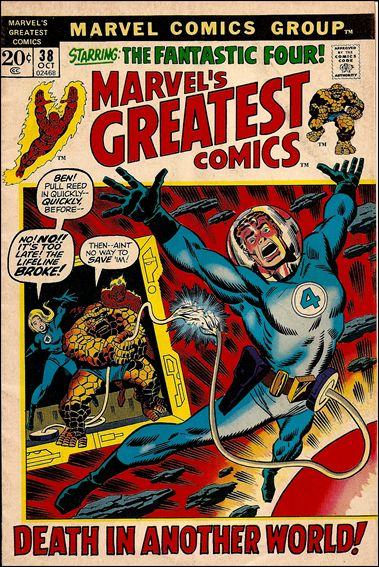 Marvel's Greatest Comics 38-A by Marvel