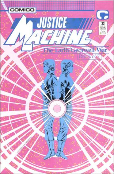 Justice Machine (1987) 23-A by Comico